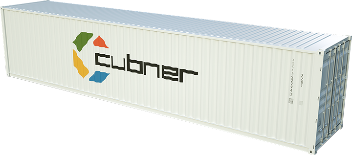 Container maritime 45 pieds high cube neufs et occasions for Tarif conteneur maritime