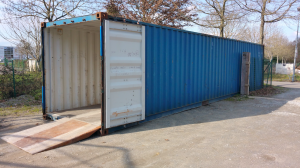 Container maritime 40 pieds occasion type CWO - CUbner