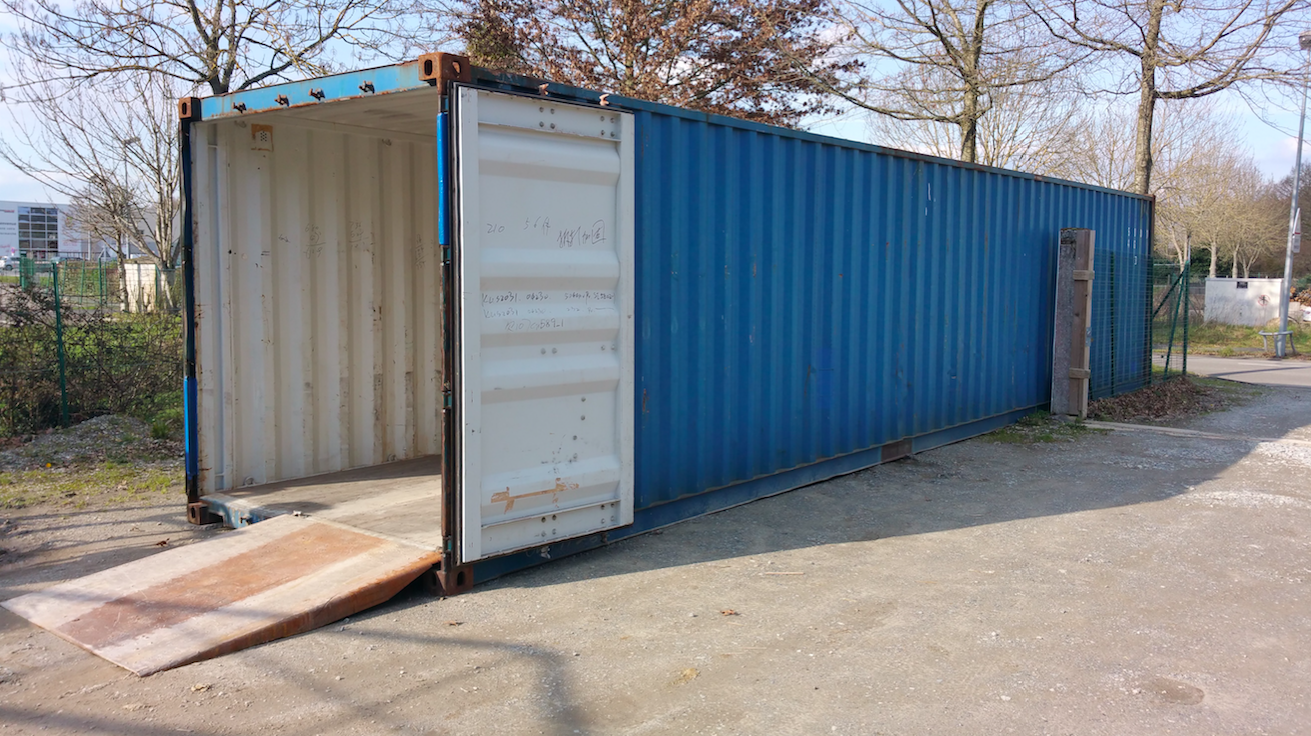 Maison container maritime catalogue des maisons maison t4 for Prix container occasion