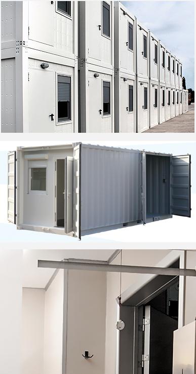 Container base de vie Cubner