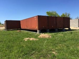 Création autoconstruction maison container maritime - Cubner