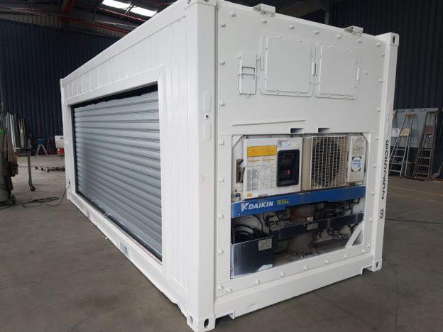 container frigo transformé