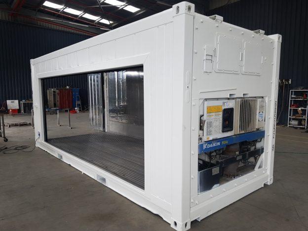 transformation container frigo