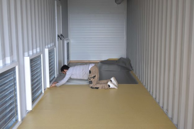 Plancher-container