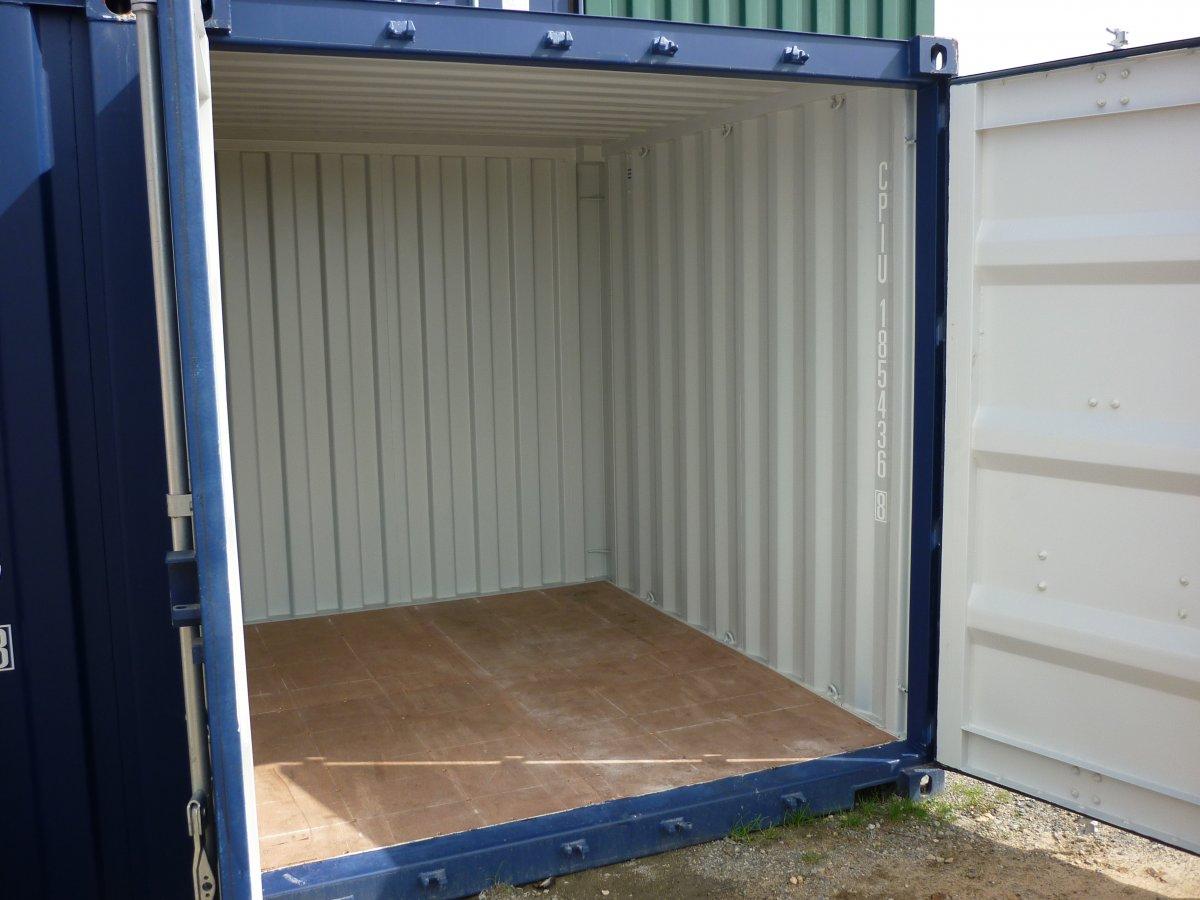 10 pieds ouvert conteneur CUBNER