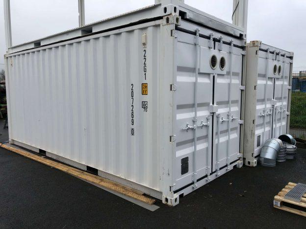 container assemblé
