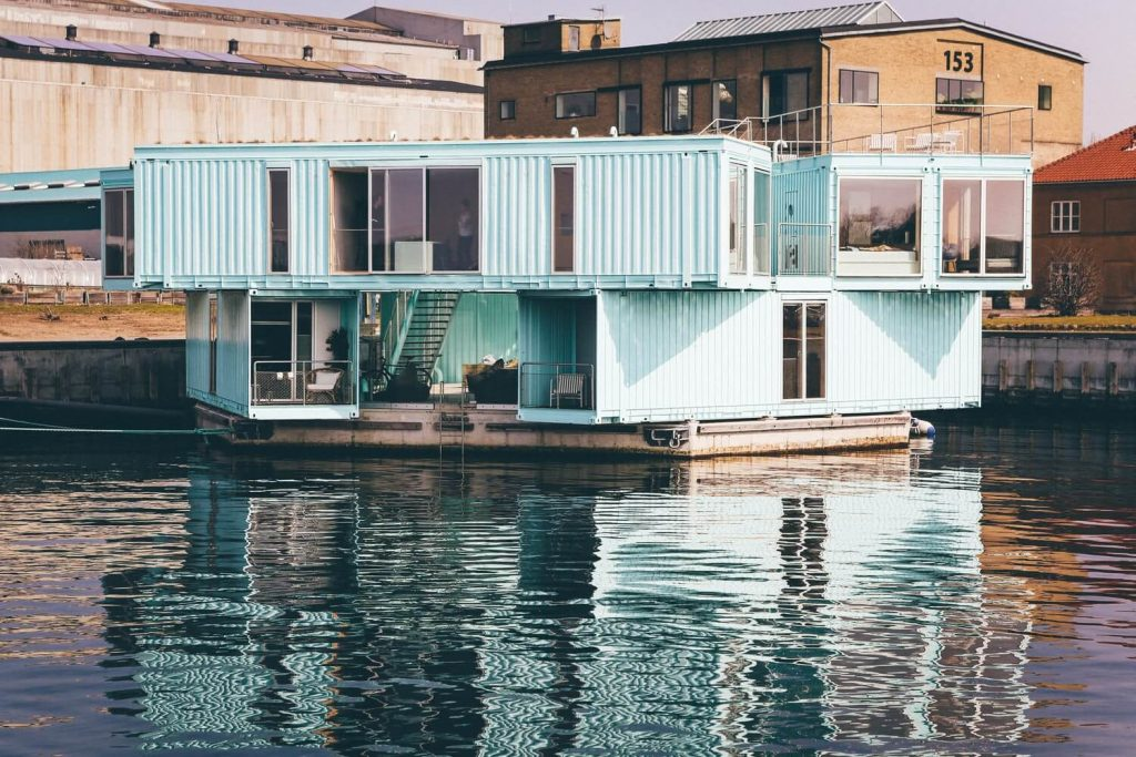 Cubner container maison